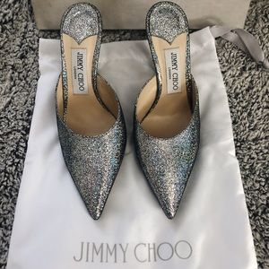 Jimmy Choo Holographic Heel